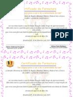 Certificado de Formatura