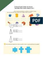 GUÍA DE GEOMETRÍA PARA SIMCE 2011