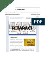 13-[ Rotaract 4670 ] Comunicação