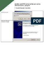 Install DC and Config DNS Server