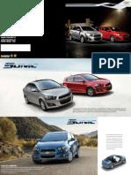 Catálogo Chevrolet Sonic