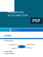 Chap4 Implementing Active Directory