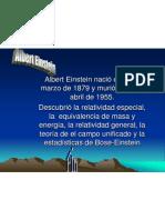 Albert Einstien, Nacho Gonzalez