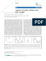 Neurodynamic Regimes of Phase Relation And
