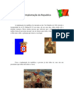 A Implantação da Republica