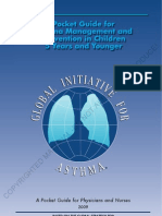 GINA - Management and Prevention in Children 5 Years and Younger Guide) - Update)