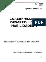 Cuadernillo DES HAB V