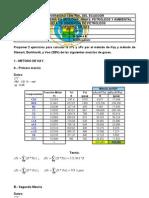 Metodo de Kay and SBV Propiedades Seudocriticas
