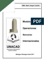 Texto Modulo Operaciones Bancarias Internacionales Version 18 de Marzo 2011