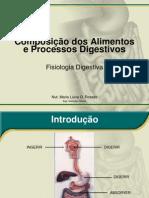 Composição dos Alimentos e Processo Digestivos