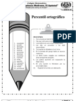 Percentil ortográfico 4to 2