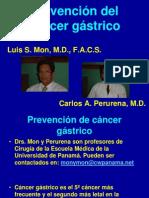 Prevencion Del Cancer Gastrico