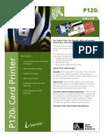 P120i   Especificações Técnicas Em Ingles