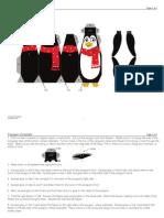 Penguin para pendurar