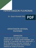 Hipertensión arterial pulmonar epidemiología ppt