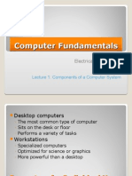 Computer Fundamentals 1st Semester Electrical Engineering Fall 2010 Lecture 1