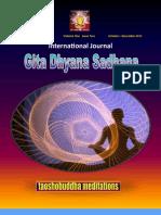 International Journal of Gita Dhyan Sadhana Oct-Dec 2011