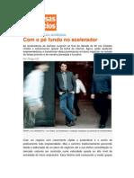 Yuri Gitahy da Aceleradora na Revista Pequenas Empresas Grandes Negócios - Outubro/2011