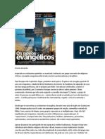 OS NOVOS EVANGÉLICOS - CAPA DA ÉPOCA