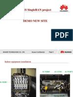 VMS SingleRAN Demo Site (PartI_Indoor Installation Guide)