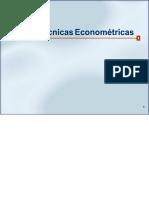 Técnicas econométricas