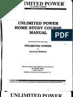 Antony Robbins - Unlimited Power Home Study