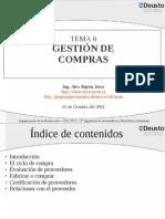Gestión de Compras (Rayón)
