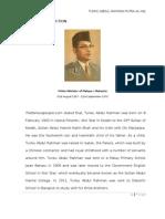Tunku Abdul Rahman -Write Up