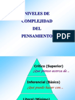 Niveles de Complejidad Del to