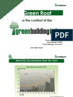 Ir Thirukumaran Jallendran - Green Roof in the Context of Green Building Index
