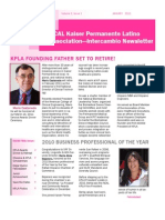 KPLA January 2011 Newsletter
