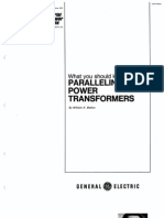 Paralleling Transformer