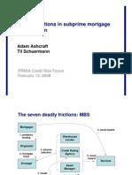 7 Deadly Frictions of SecuritizationTil Schuermann_presentation
