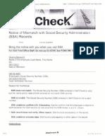 Obama Fails E-Verify - Proof He Stole SSN