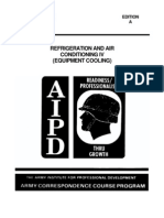 Refrigeration and Air Conditioning Equipment Cooling