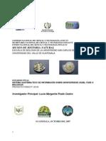 SISTEMA GUATEMALTECO DE INFORMACIÓN SOBRE BIODIVERSIDAD (SGIB), FASE II