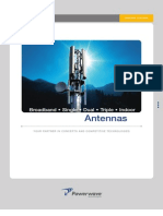 Powerwave Antennas 2007