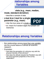 Correlations, Simple Regression