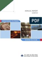 SAIL Annual Report 06 07