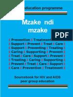 Mzake Ndi Mzake - HIV and AIDS Manual