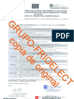 Certificado de Empresa Manipulacion de Gases Fluorados