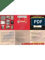 Triptico Evento Inmigración China al Perú