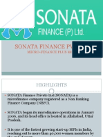 Sonata Finance Pvt