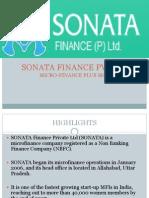 Sonata Finance Pvt