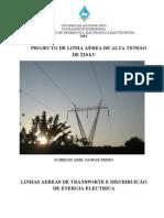 Projecto de Linha Aeria de 220 kV