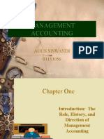 01 Introduction;The Role,History and Direction of Management Accounting