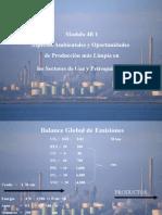 Aspectos Ambient Ales y des de Producción más Limpia en Los Sectores de Gas y Petroquímica