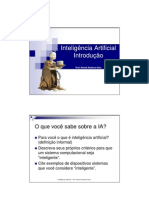 Inteligência Artificial-Introducao IA