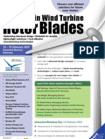 Advances in Wind Turbine Rotor Blades