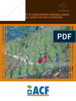 Food Security & Livelihoods Surveillance